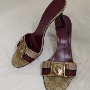 Gucci slide-on Heels